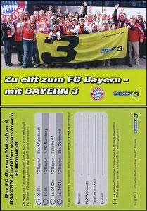 Bayern3, 2013,  'Zu elft zum FC Bayern'