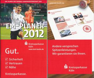 Klose, 2012, EM-Planer 'Kreissparkasse Köln'