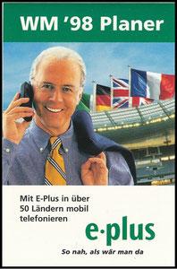 Beckenbauer, 1998, eplus 'WM-Planer'