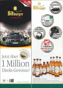 DFB, 2010, Bitburger 'Kronkorrkenaktion'