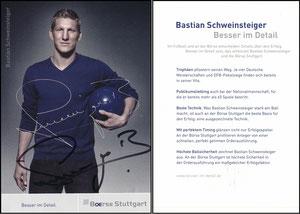 Schweinsteiger, 2011, Börse Stuttgart, Motiv 2