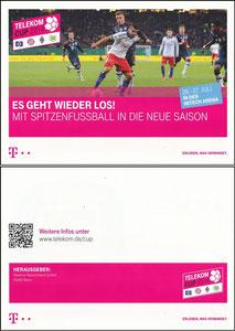 Telekom, 2014, Telecom Cup, A5-Folder