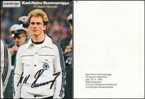 Rummenigge, 1980, Leonberger, DFB, ohne Druck-AG