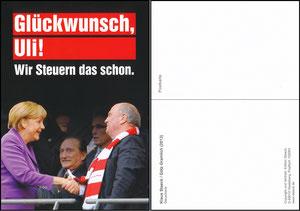 Hoeneß, 2013, Protestkarte der Jungen Union