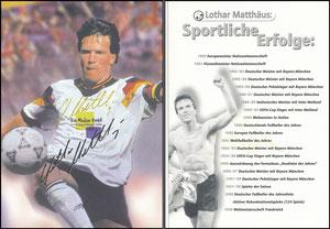 Matthäus, 1998, Bio Medico, gab es nur im Würfelspiel 'Meine 5. WM'