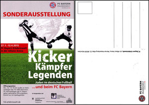 Bayern Erlebniswelt, 2015, 'Kicker, Kämpfer, Legenden'