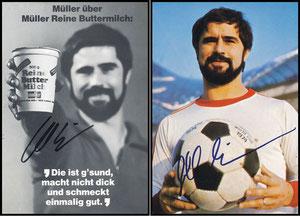 Müller, Gerd, 1974, Müller-Milch