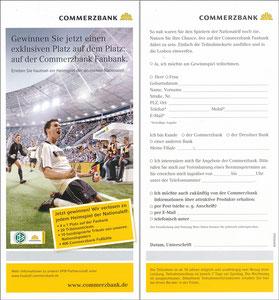 DFB, 2009, Commerzbank 'Fanbank'