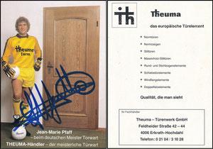 Pfaff, 1986, Theuma-Türen, gelb, deutsche Karte