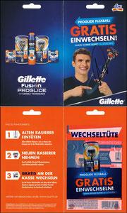 Müller, Thomas, 2015, Gillette, Klappkarte A5