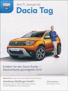 Scholl, 2019, Dacia, Dacia-Tag Autohaus Mulfinger', A4