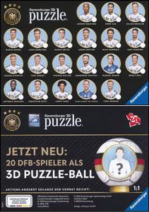 DFB, 2018, Ravensburger '3-D-Puzzle'