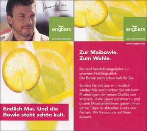 Helmer, 2004, Engbers 'Maibowle', Kleinkarte