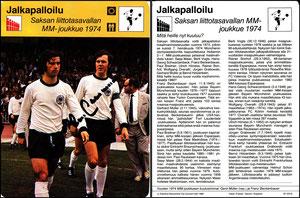'Bundesrepunblik Deutschland, WM-Mannschaft 1974', Finnland, 1980, 97-2316