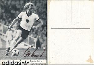 Hoeneß, 1972, Adidas 'Olympia-Trikot'