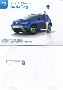 Scholl, 2020, Dacia, 'Dacia-Tag, März 2020', A5