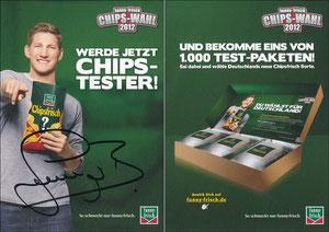 Schweinsteiger, 2012, Funny Frisch 'Chips-Wahl 2012, Chips-Tester'