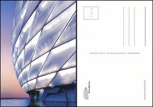 Allianz Arena, 2011, Stadion-Postkarte