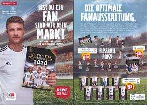 Müller, Thomas, 2018, Rewe WM-Sammelbilder, A5