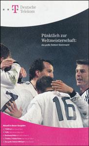 Telekom, 2002, 'Weltmeisterschaft', A4 Booklet