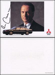 Beckenbauer, 1992, Mitzubishi, Motiv 1