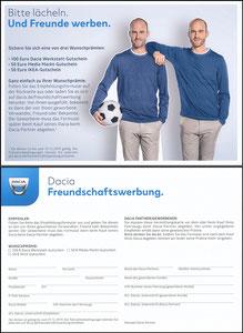 Scholl, 2019, Dacia 'Freundschaftswerung', A5, Motiv 2
