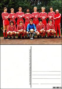 Fan Shop, Postkarte, '1976, Weltpokal', Dank an SF Sven