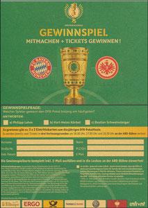 DFB, 2018, Pokal-Finale, Gewinnspiel
