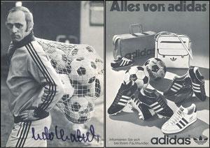 Lattek, 1970, Adidas 'Alles von Adidas'