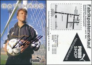 Matthäus, 1998, Puma, Puma-Shop Herzogenaurach