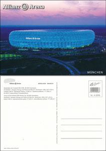 Allianz Arena, um 2010, Shop-Postkarte