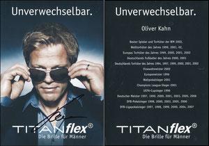 Kahn, 2008, titanflex, signiert Aug. 2019