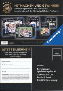 DFB, 2018, Ravensbrger 'Fan-Pakete'