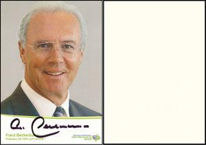 Beckenbauer, 2005, Fifa, Präsident Organisationskommittee-horz