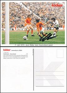 Kicker Sammelkarte 04, Müller, Gerd