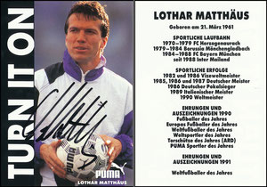 Matthäus, 1991, Puma 'Turn it on'