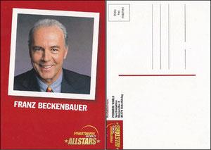 Beckenbauer, 2001, Premiere AllStars, ohne Druck-Ag, weiße Rückseite
