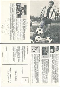 Müller, Gerd, 1969, Komar, Klappkarte, Rückseite 1