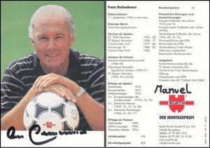 Beckenbauer, 2002, Würth