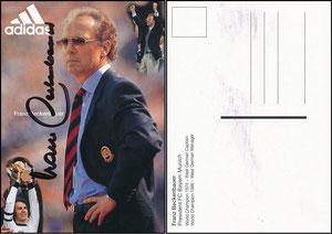 Beckenbauer, 1996, Adidas, grosses Adidas-Emblem