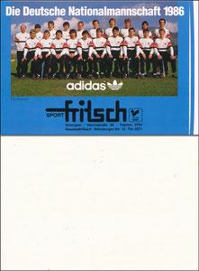 DFB, 1986, 'Sport Fritsch', Aufkleber
