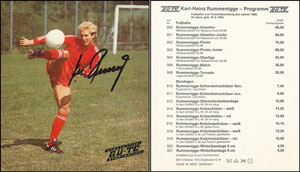 Rummenigge, 1980, Gü-Te, OHNE Druck-AG