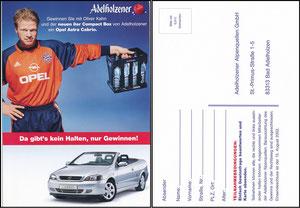 Kahn, 2002, Adelholzener & Opel