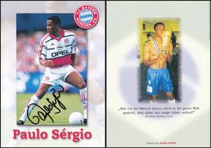 Sergio, 1999, Marburger Medien, ohne Druck-AG, Klappkarte