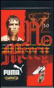 Matthäus, 1998, Puma King '30 Jahre', Aufkleber