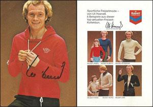 Hoeneß, 1974, Kapart, Motiv 3, Dank an SF Michael