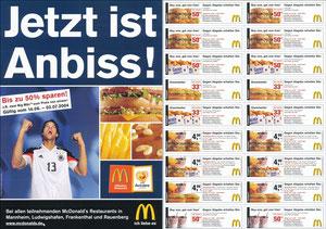 Ballack, 2004, McDonalds 'Rabattcoupons', A4