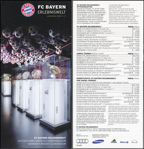 Bayern Erlebniswelt, 2013, Flyer 'Via Triumphalis'