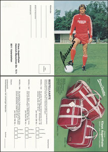 Augenthaler, 1982, Picard Sports-Line, Klappkarte