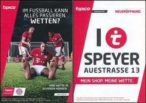 Tipico, 2017, 'Eröffnung Speyer'